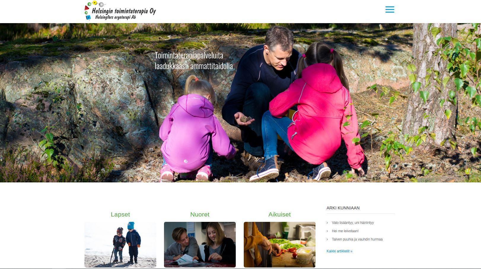 Helsingin toimintaterapia Oy
